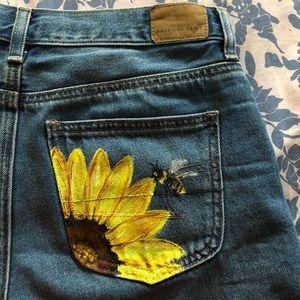Customized Mom Shorts size 4